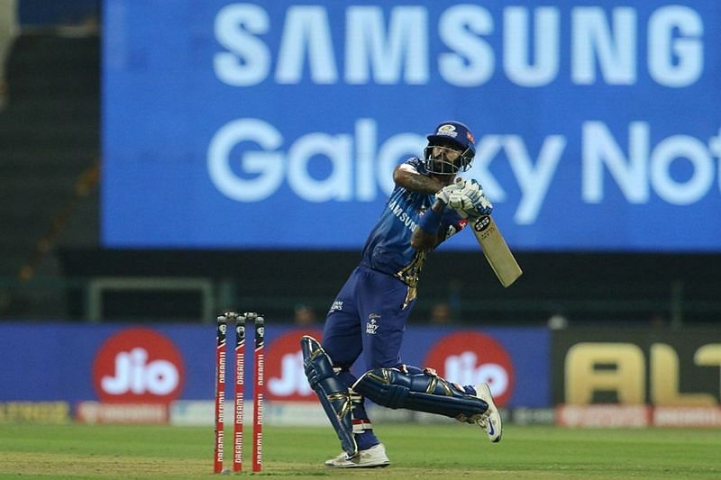 Suryakumar Yadav was in fine form against RR