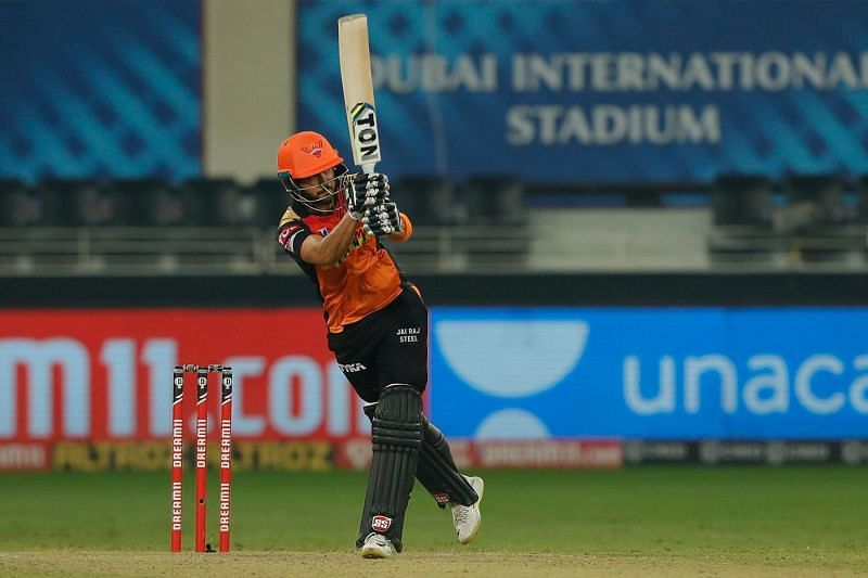 Manish Pandey was on fire against RR. (Image Credits: IPLT20.com)