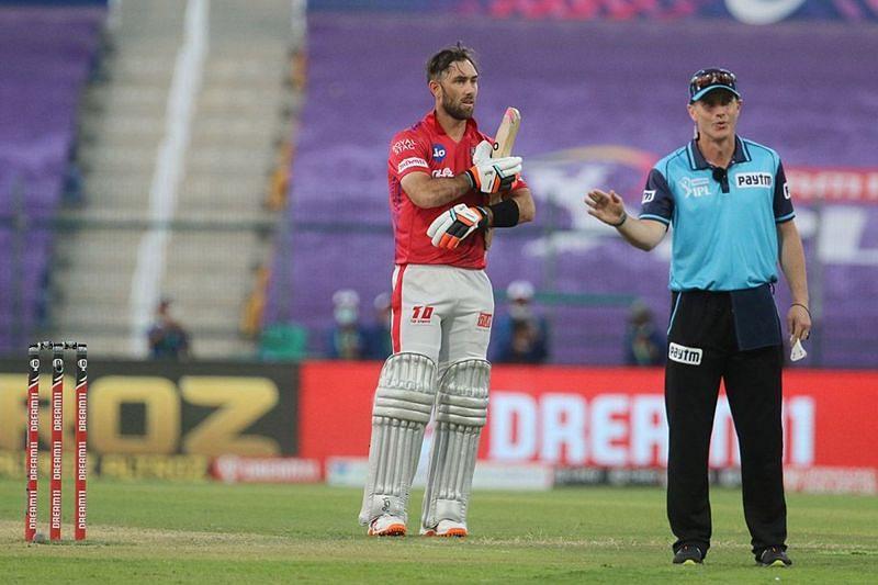 Glenn Maxwell has only scored 58 runs in seven games of IPL 2020 (Image credits: IPLT20,com)
