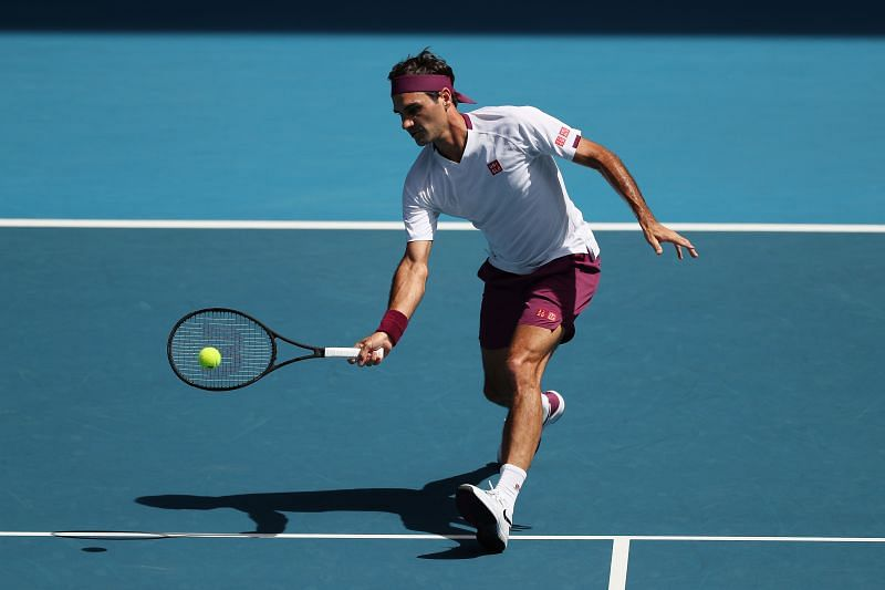 Roger Federer has not played on tour since the Australian Open due to a knee injury