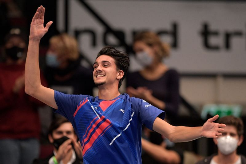 Lorenzo Sonego at Erste Bank Open 2020