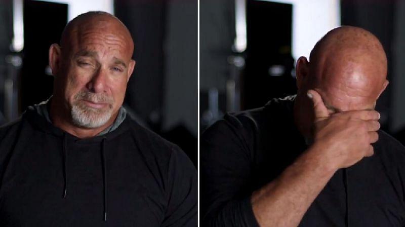 Goldberg in tears