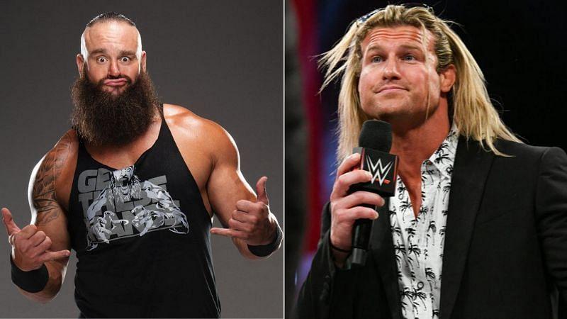 Braun Strowman and Dolph Ziggler