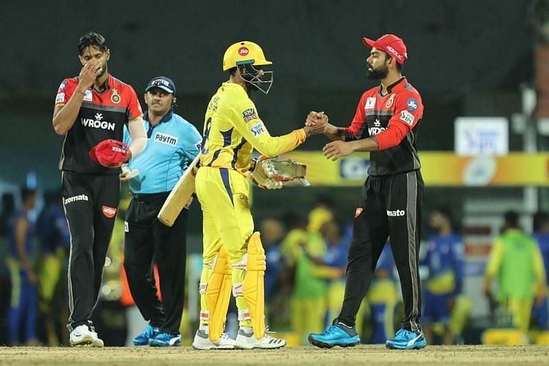 Chennai Super Kings vs Royal Challengers Bangalore. Pic: IPLT20.COM