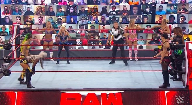 Royce and Evans came up short on RAW