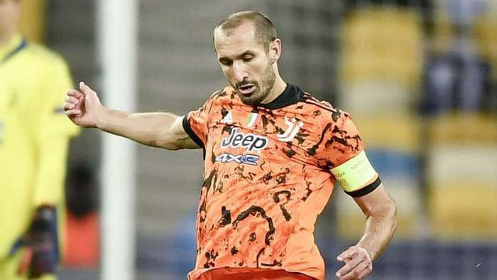 Giorgio Chiellini had to be substituted off due to an injury