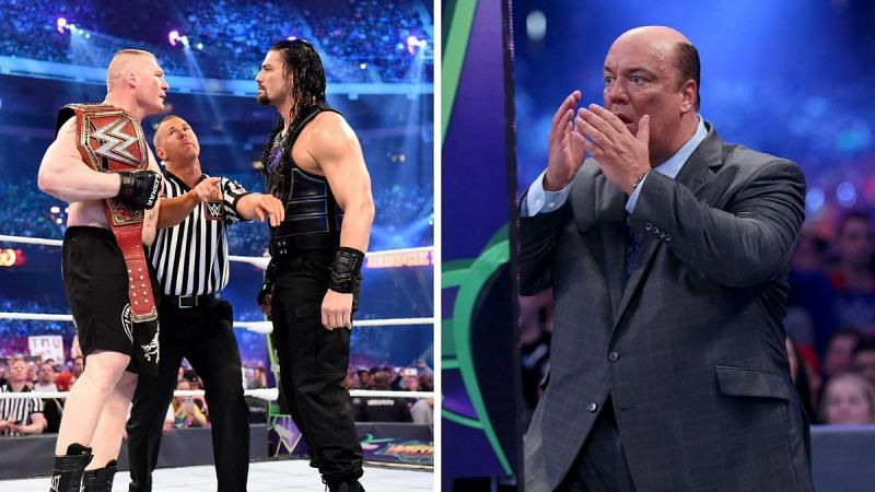 """Roman Reigns and Brock Lesnar are two """"Paul Heyman guys"""""""