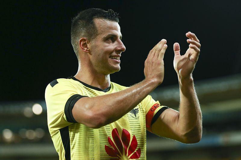 A-League Rd 23 - Wellington v Melbourne