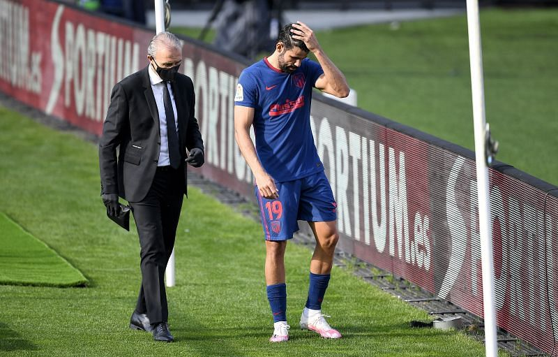 Diego Costa remains a big miss for Atletico Madrid