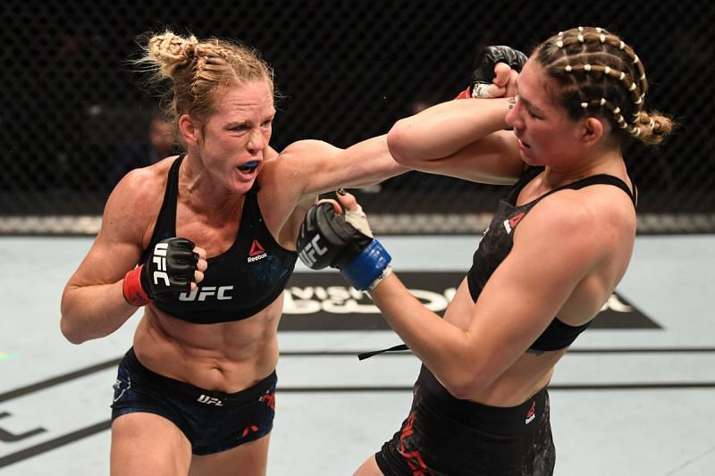 Holly Holm dominated Irene Aldana in last night
