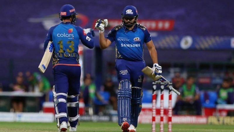 Rohit Sharma also praised Quinton de Kock, whose brilliant 78 helped MI chase down the target comfortably