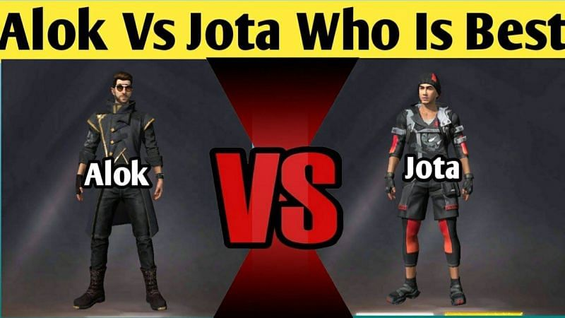 DJ Alok and Jota are often used by aggressive Free Fire players (Image via Sheeshagaming/ YouTube)
