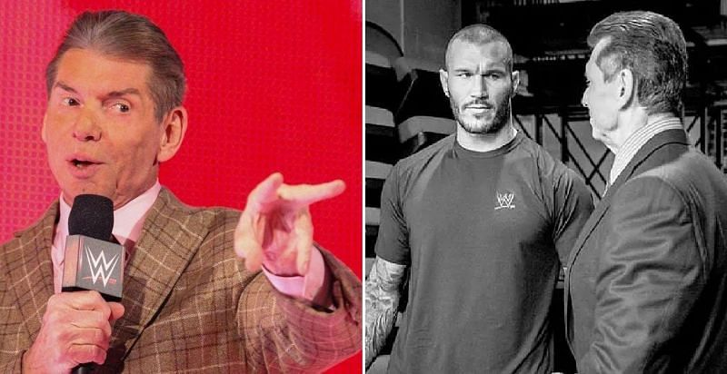 Vince McMahon and Randy Orton