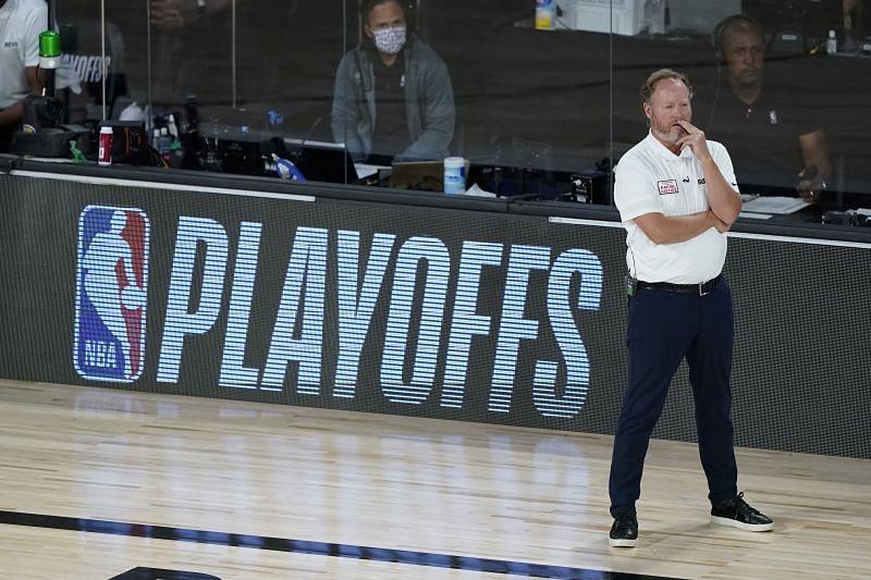 Milwaukee Bucks head coach Mike Budenholzer
