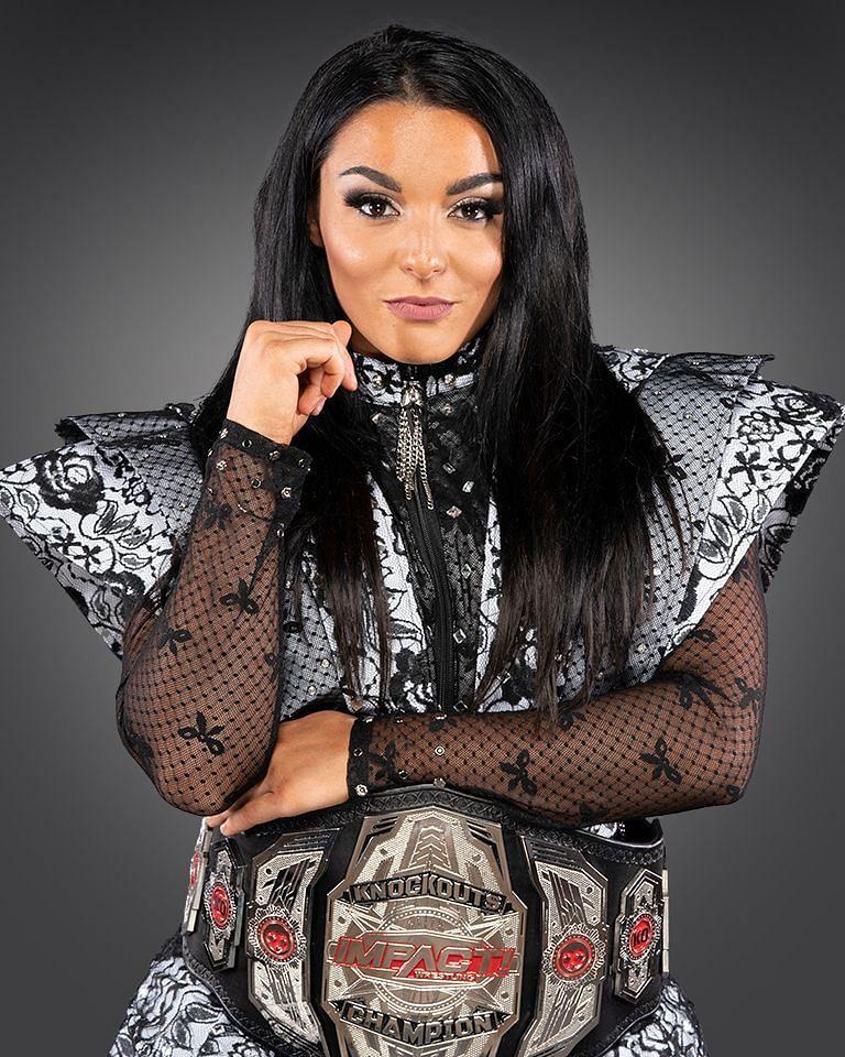 IMPACT Knockouts Champion Deonna Purrazzo