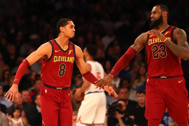 Jordan Clarkson and LeBron James have already played together in the past