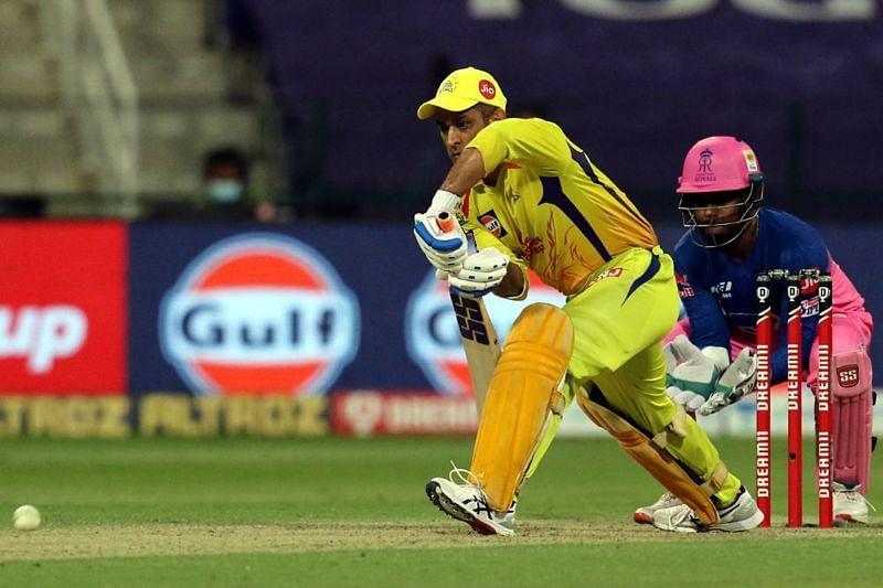 The CSK batsmen were kept on a tight leash by the RR leg-spinners [P/C: iplt20.com]