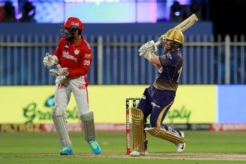 Kolkata Knight Riders captain Eoin Morgan has a tendency to bat lower down the order for the team [P/C: iplt20.com]