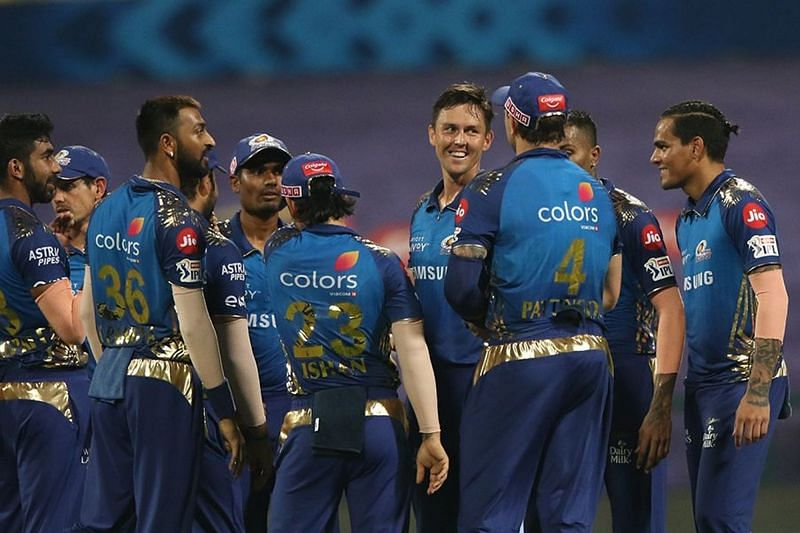 MI beat RR by 57 runs to move to the top of the IPL 2020 points table (Image Credits: IPLT20.com)