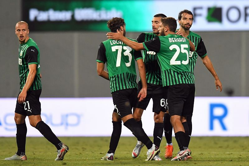 US Sassuolo travel to Bologna in their next Serie A fixture at the Renato Dall
