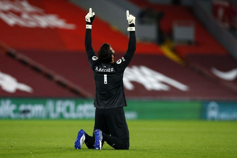 Alisson Becker could be available to face West Ham in the weekend