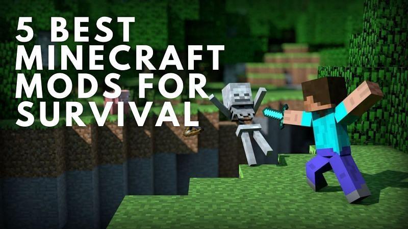 5 best Minecraft mods for survival