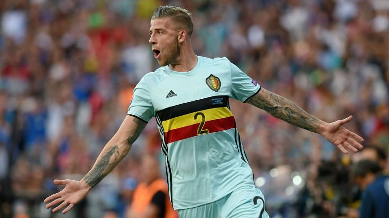 Toby Alderweireld provided the assist for Romelu Lukaku