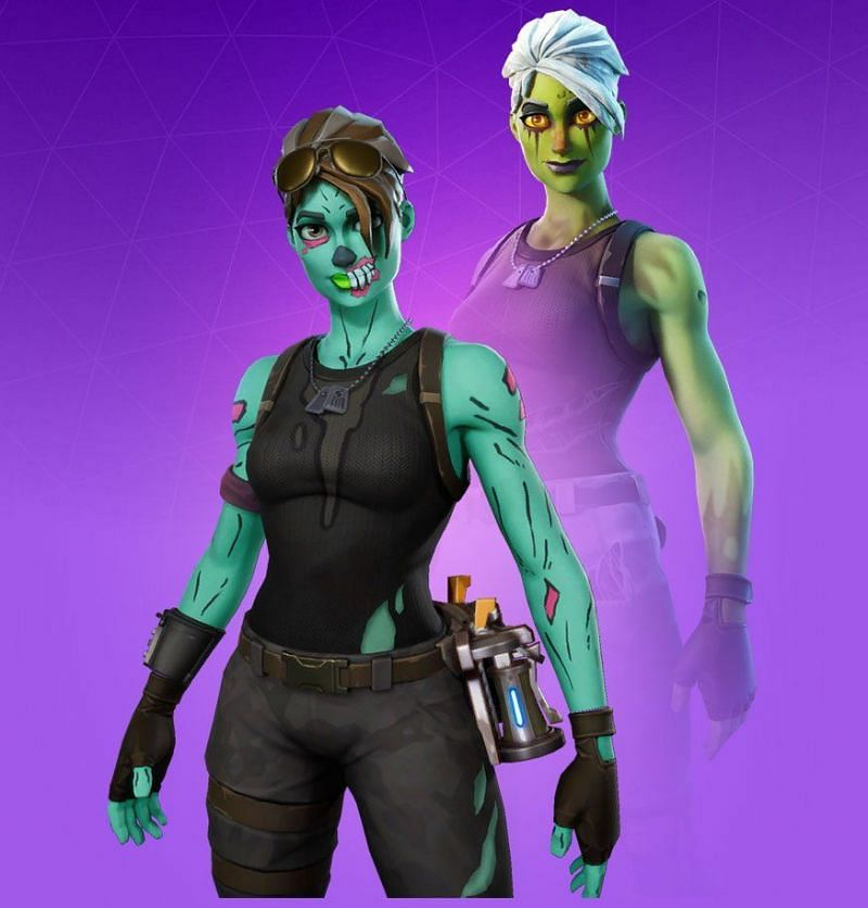 Ghoul Trooper has been one of the scariest OG cosmetics in Fortnite (Image credit: Pro Game Guides)