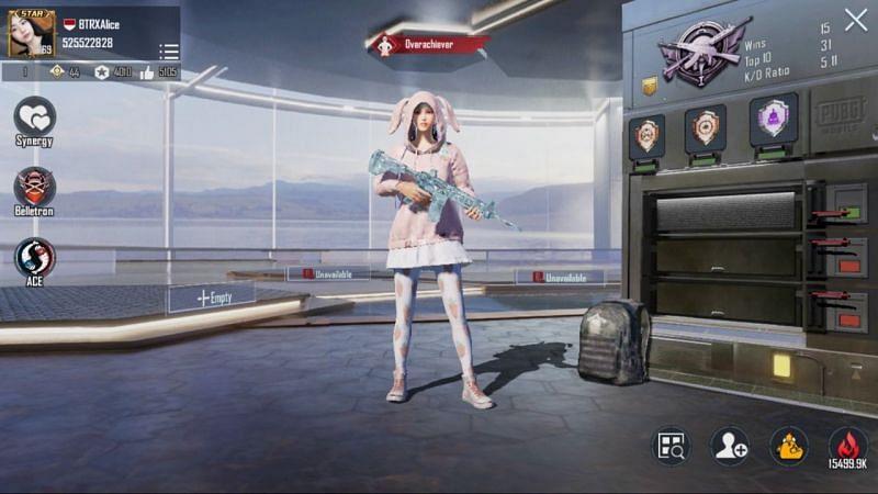 BTR Alice's PUBG Mobile details