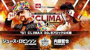 The B Block of the G1 Climax 30 was back in action today on Night 12 with Naito/Juice standing out.