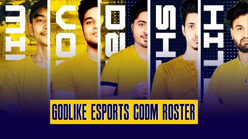 GODLIKE Esports Call of Duty Mobile roster