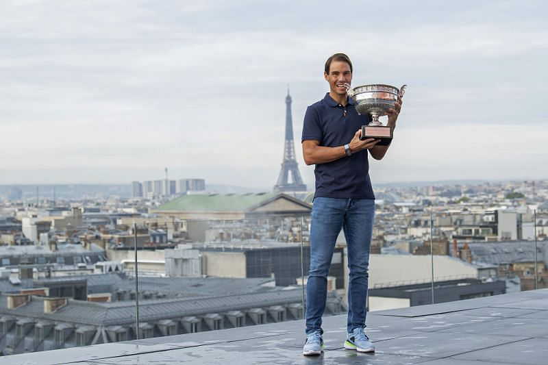 French Open winner Rafael Nadal