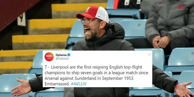 Liverpool crashed to a heavy defeat at Aston Villa