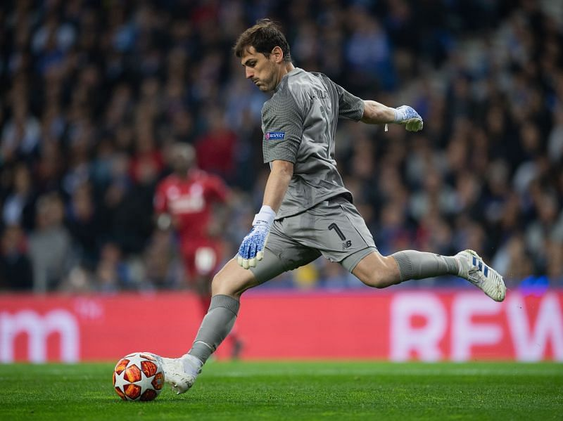 Iker Casillas playing for FC Porto