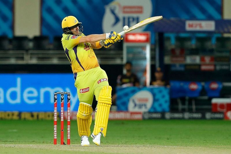 Shane Watson failed at supporting Gaikwad adequately in possibly his last IPL game. [PC: iplt20.com]