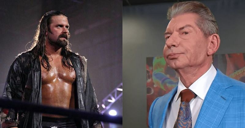 James Storm and Vince McMahon.