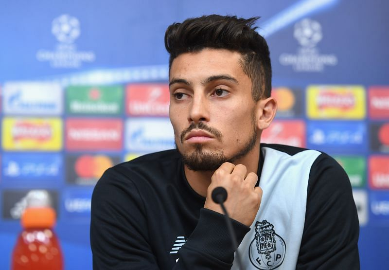 Alex Telles might have to hold off his dream move to Old Trafford for another year