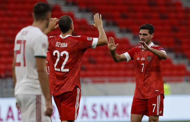 Russia will be hoping to continue their good form in a friendly game with Sweden this week