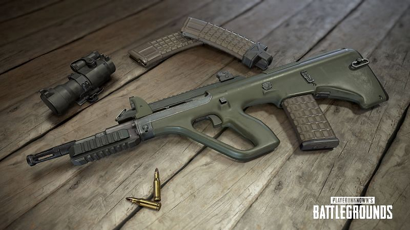 PUBG Mobile: M416 VS AUG A3; Which assault rifle is better (Image credits: Pinterest)