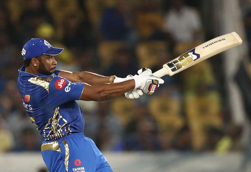 IPL 2020: MI vs SRH: Kieron Pollard played a quick innings of 41 runs on 25 balls