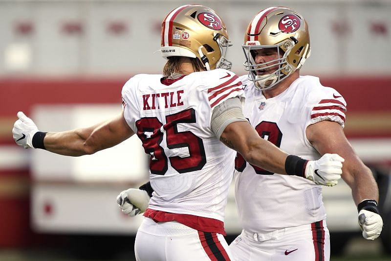 San Francisco 49ers tight end George Kittle (85)