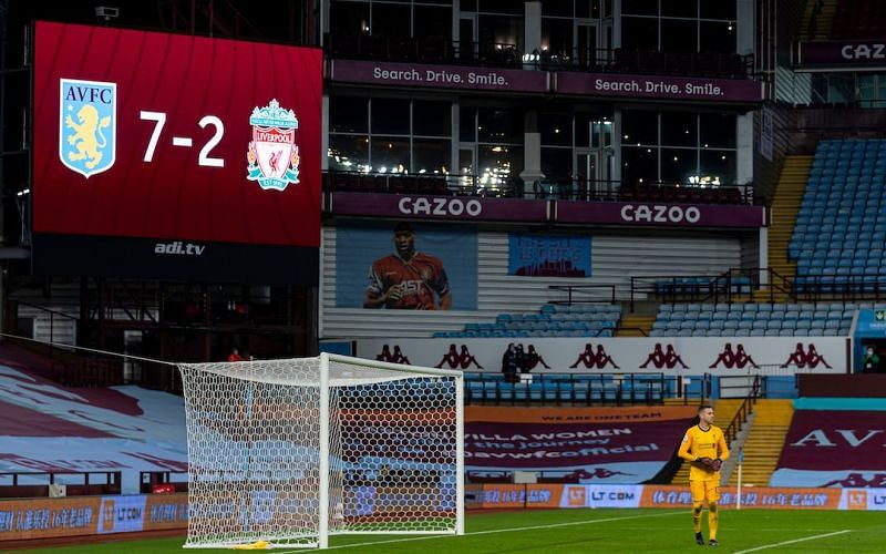 Liverpool crashed to a 2-7 defeat at Aston Villa in one of the big surprises of the Premier League season.
