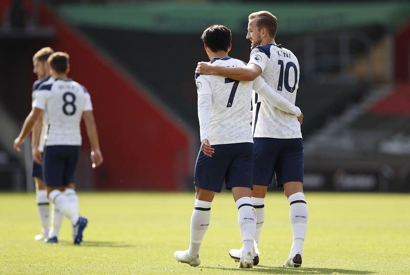 Son Heung-Min and Harry Kane have been in great form for Tottenham