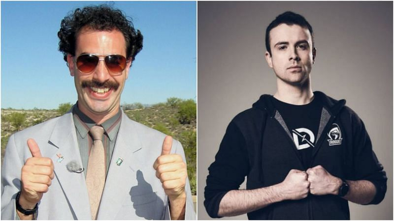 Borat is set to face off against Dr Lupo on Twitch