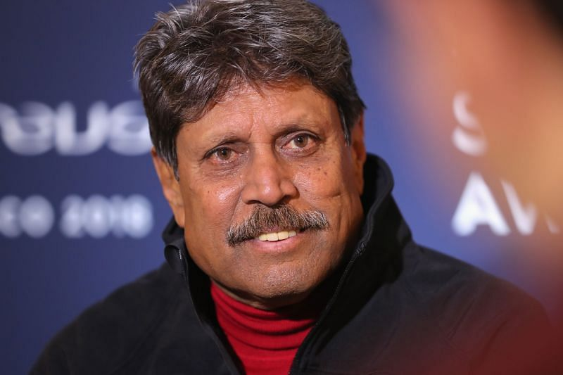 Kapil Dev recently had a heart attack