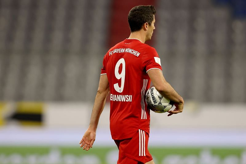 Robert Lewandowski was named the UEFA Men