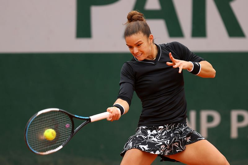 Maria Sakkari is through to the third round of the French Open for the second year in a row