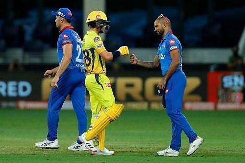 Rajasthan Royals vs Delhi Capitals. Pic: IPLT20.COM