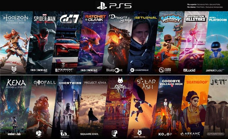 Upcoming PS5 games (Image credit: Press Start)