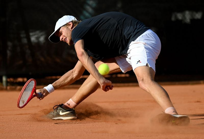 Yannick Hanfmann made the finals in Kitzbühel earlier this year.
